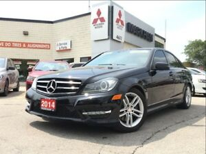 2014 Mercedes-Benz C-Class C300 4MATIC (SUNROOF! BLUETOOTH!)
