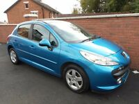 2008 PEUGEOT 207 SPORT{65K,PAN ROOF,SPEC,CRUISE CONTROL,FINANCE,WARRANTY AVA 6/12 MONTHS WARRANTY