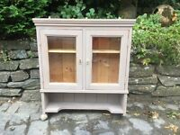 Solid Quality Pine Kitchen Cabinet Glass Display Unit Cupboard I CAN DELIVER