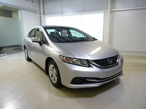 2014 Honda Civic Sedan LX 5MT * Tres BAS Millage * Jamais Accide