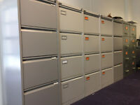 Filing Cabinets x 7 (Roneo, Bisley, Leabank)