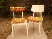 Pair of Retro Chairs - *Free Local Delivery