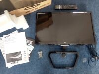 """24"""" LED TV w/ DVD Player (Hardly Used)"""