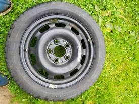 Brand new spare wheel