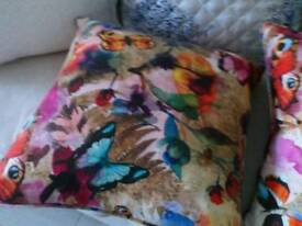 Lovely butterfly cushions two