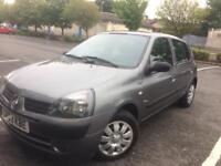RENAULT CLIO 1.2 5 DOOR ONLY 58000 MILES MOTD TILL MAY 2019
