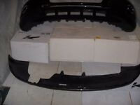 2013 AUDI Q5 Front & Rear Bumpers Painted Lava Grey