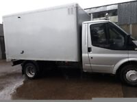 Van and driver for hire