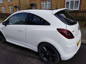 vauxhall corsa limited edition, 1.2l petrol