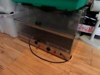 Hot holding oven, Pasty pie warmer, 2 shelves