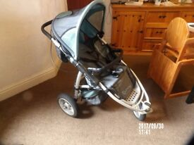 Quinny Speedi Jogger Buggy Large Tyres Fast