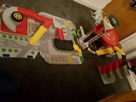 big city garage toy
