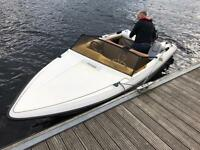 Fletcher speed boat 55hp