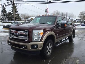 2011 Ford F-250 LARIAT KING RANCH TOIT GPS CUIR 23900$ 514-692-0