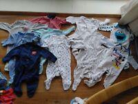 Bundle Newborn / First Size Baby Clothes Next John Lewis Unisex / Boy