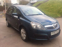 VAUXHALL ZAFIRA 1.6 LIFE 16V 5d 105 BHP 7 Seats, MOT March 2018 SERVICE RECORD (6 STAMPS)