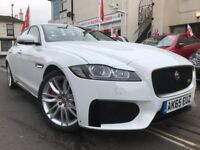 stunning jag xf in white from 0% depo finance avail