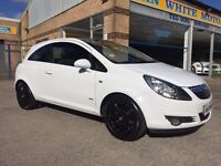 Vauxhall Corsa 1.2 SXi 3 Door.. WHITE...ONE LADY OWNER...FULL SERVICE HISTORY..