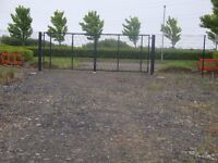 Large yard c/w office on industrial estate of Belfast to L/Derry road (A6). Shed and small yard to.
