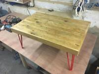 Coffee table (reclaimed wood)