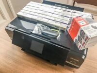 Epson XP-950 A3 All-in-One Printer + lots of ink cartridges - bundle