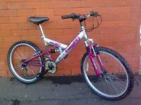 FreeSpirit mountain bike - full suspension !