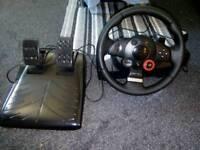 Logitech Driving Force GT, Stering Wheel