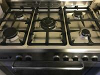 Zanussi Range Cooker.Gas hobs ,Electric oven