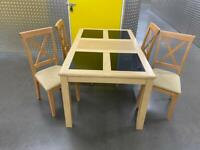 Solid table and chairs, Free delivery