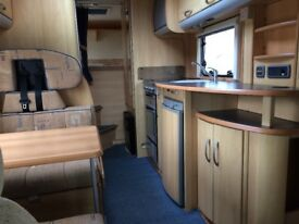 ACE ROMA MOTORHOME 2006 FIAT 28TDI FIXED BED 6 BERTH