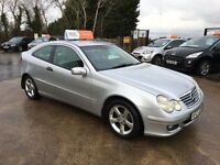 Late 2005 Mercedes C220 Diesel Coupe **FINANCE AND WARRANTY* (320d,a3,golf,mini)