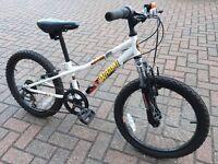 "Apollo Wham Mountain Bike Bicycle 20"" Inch Wheels 6 Gears Steel Frame"