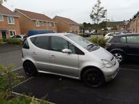 03 reg mercedes a210 2.1 evolution amg 190bhp chipped full at exhaust k an n filter full service