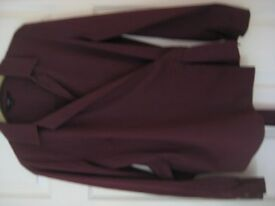 NEXT UNUSUAL BLOUSE/SHIRT WITH STRETCH - SIZE 12