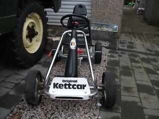 Rare 1970s Original Kettler Kett-Car Lux Special Edition Go Kart Original Box