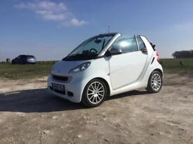 Smart ForTwo passion convertible MHD auto