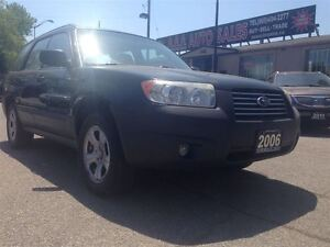2006 Subaru Forester 2.5X AWD Free of Accidents