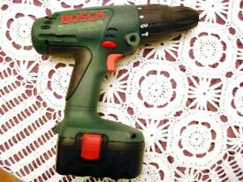 bosch psb 18 V-1 drilling and hammering tool, incomplete