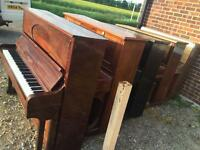Pianos for spares or project or for the scrap metal