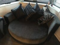 2 x 2 seater dfs sofas for sale