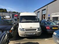Ford transit mwb 350 van, sorn, parts and spares