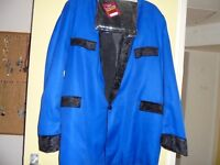 TEDDY BOY JACKET,WIG AND BOOTLACE TIE