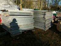 Ca 75 Hoarding panels fences 2M good state