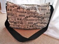 MOTHERCARE BABY BAG Pram nappy changing Mat Insulated bottle bag