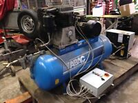 ABAC B741-270 Compressor, with Parker Hiross Starlette refrigerated dryer