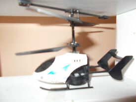 Remote controlled mini helicopter