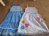 Age 3-4 M&S summer dresses