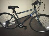 Men's hybrid medium size bicycle town bike bargain