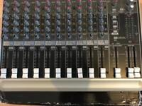The ever reliable Mackie 1402-VLZ3 14 channel mixer