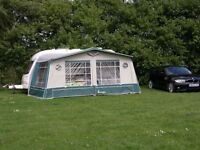 Isabella Capri Lux Awning - VGC and only lightly used.
